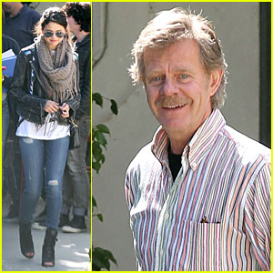 Selena Gomez: 'Rudderless' Meeting with William H. Macy!