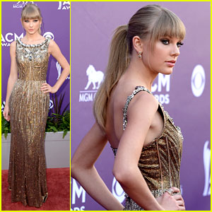 Taylor Swift - ACM Awards 2013 Red Carpet