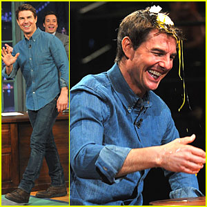 Tom Cruise: Egg Roulette on 'Fallon'!
