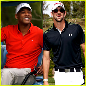 Will Smith & Michael Phelps: Celebrity Golf Tournament!