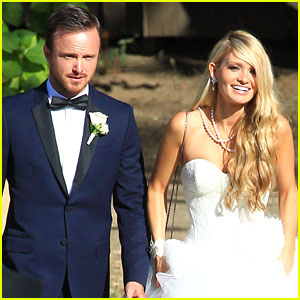 Aaron Paul & Lauren Parsekian: Wedding Photos!