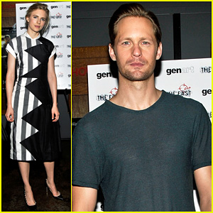 Alexander Skarsgard: 'The East' Brooklyn Screening!