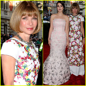 Anna Wintour: Met Ball 2013 with Daughter Bee Shaffer!
