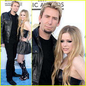 Avril Lavigne: Billboard Music Awards 2013 with Chad Kroeger!
