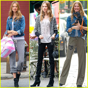 Behati Prinsloo: Comfy Sweat Pant Photo Shoot!