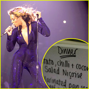 Beyonce Hints at No Pregnancy with Tuna on Dinner Menu!