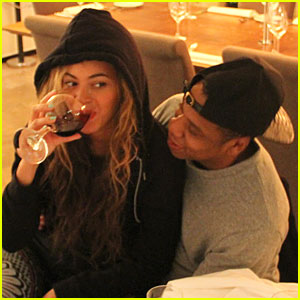 Beyonce Makes a No Pregnancy Statement with Wine!