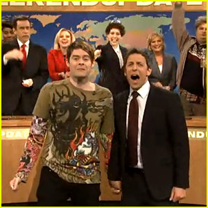 Bill Hader: Stefon's SNL Farewell with Seth Meyers - Watch Now!