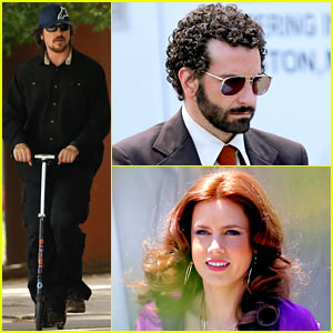 Bradley Cooper & Amy Adams: 'American Hustle' Lunch Break!