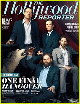 Bradley Cooper Covers 'THR' with 'Hangover III' Co-Stars