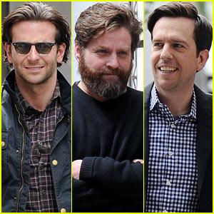 Bradley Cooper & 'Hangover Part III' Guys: BBC Radio 1 Visit!