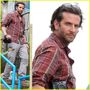 Bradley Cooper Visits Santa Marta Favela with Ed Helms