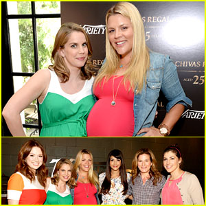 Busy Philipps & Anna Chlumsky: Pregnant Pals for Variety!