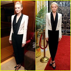 Carey Mulligan Repeats Outfit at 'Flaunt' Party in Cannes