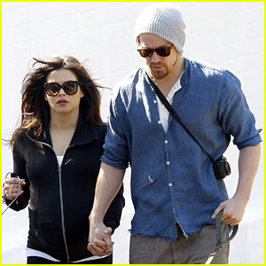 Channing Tatum & Jenna Dewan Take a Dog Walk Following Vet Visit