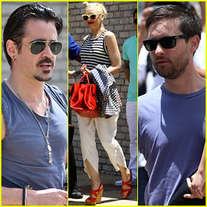 Colin Farrell & Gwen Stefani: Memorial Day Party Goers!