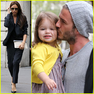 David & Victoria Beckham: Shopping Fun with Harper!