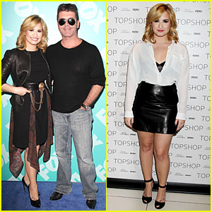 Demi Lovato: Fox Upfront Presentation with Simon Cowell!