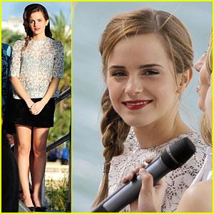 Emma Watson: I'm Hardly a Pro Pole Dancer!