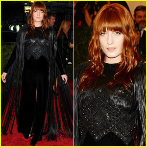 Florence Welch - Met Ball 2013 Red Carpet