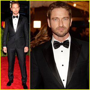 Gerard Butler: Met Ball 2013 Red Carpet