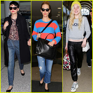 Ginnifer Goodwin & January Jones: L.A. Arrivals After Met Ball!