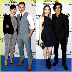 Ginnifer Goodwin & Josh Dallas: Disney International Upfront!