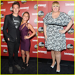 Hayden Panettiere & Rebel Wilson: ABC Upfronts Party!