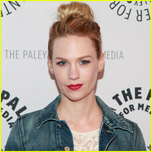 January Jones Keeps Silent on Son Xander's Father