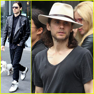Jared Leto Performs Free Show in Union Square