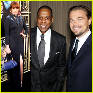Jay-Z & Florence Welch: 'Great Gatsby' New York Premiere!