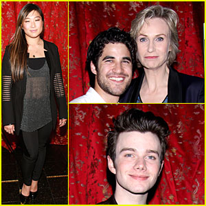 Jenna Ushkowitz: 'Annie' Musical After Party with 'Glee' Cast!