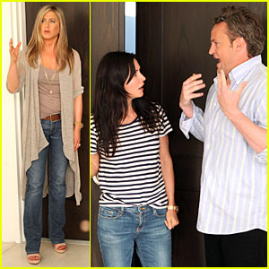 Jennifer Aniston: 'Friends' Reunion on 'Ellen'!