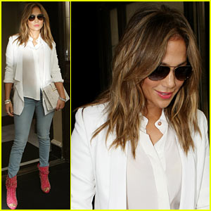 Jennifer Lopez Steps Out After 'Britain's Got Talent' Controversy
