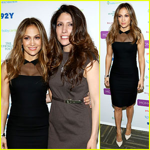 Jennifer Lopez: United Nations' Mom + Social Event!