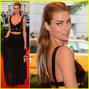 Jessica Hart - Met Ball 2013 Red Carpet