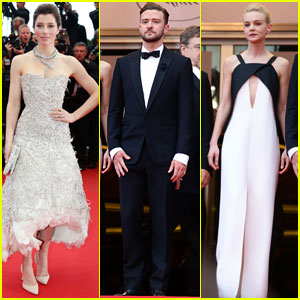 Justin Timberlake &#038; Jessica Biel: 'Inside Llewyn Davis' Cannes Premiere