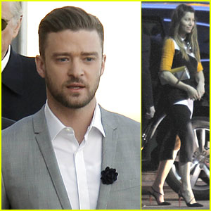 Justin Timberlake & Jessica Biel: 'Inside Llewyn Davis' Cannes Promotion!