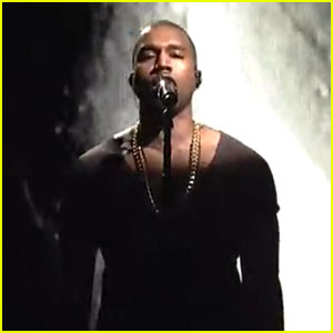 Kanye West: 'SNL' Performance of 'New Slaves' - Watch Now!