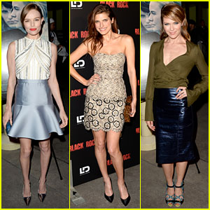 Kate Bosworth & Lake Bell: 'Black Rock' Screening!