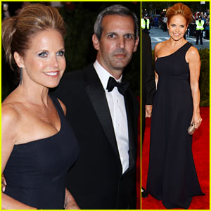 Katie Couric: Met Ball 2013 Red Carpet with John Molner