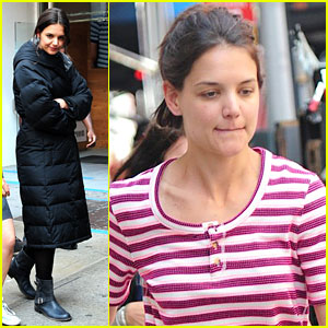 Katie Holmes: Back to Work After Memorial Day Vacation!