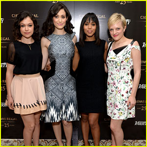 Kerry Washington & Emmy Rossum: Variety Emmy Studio!