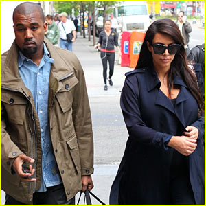 Kim Kardashian & Kanye West Dine with Anna Wintour Pre-Met Ball!