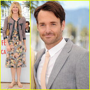 Laura Dern & Will Forte: Cannes 'Nebraska' Photo Call!