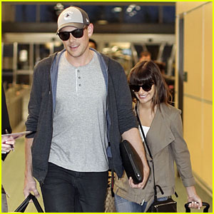 Lea Michele & Cory Monteith: Vancouver Departing Couple!