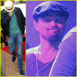 Leonardo DiCaprio Hides Face After Clubbing in Cannes