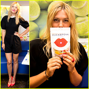 Maria Sharapova: Sugarpova Launch in France!