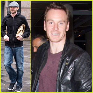 Michael Fassbender & Shawn Ashmore Hit Montreal for 'X-Men' Filming