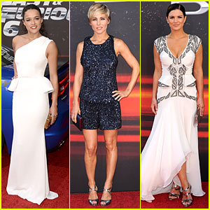 Michelle Rodriguez & Gina Carano: 'Fast & Furious 6' Los Angeles Premiere!